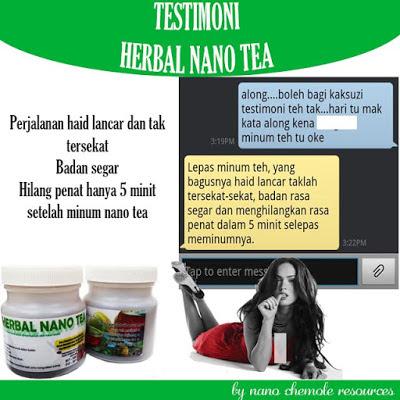 TESTIMONI HERBAL NANO TEA 10