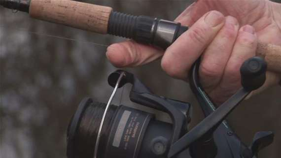 How To String A Fishing Pole Reel To Fishing With Me