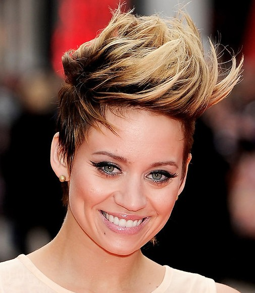 Faux Hawk Hairstyles for Women