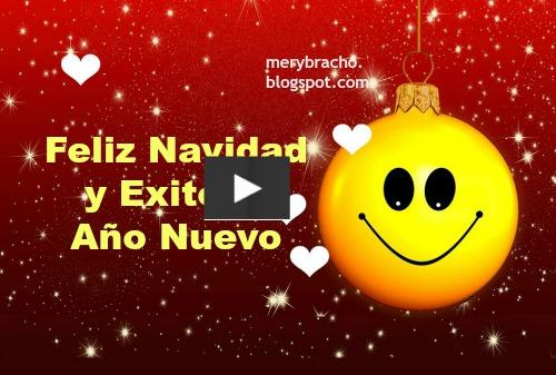 video con msica navidea y un bonito mensaje cristiano para desear feliz navidad y prspero ao