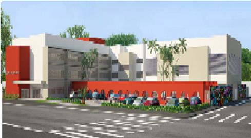 Novo prédio da Escola Murilo Braga