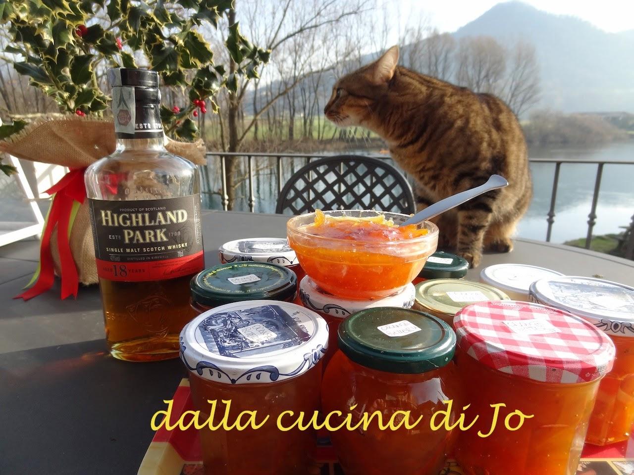 marmellata di arance amare al whisky
