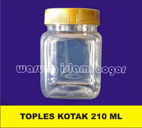 Jual Toples Plastik Kotak 200ml