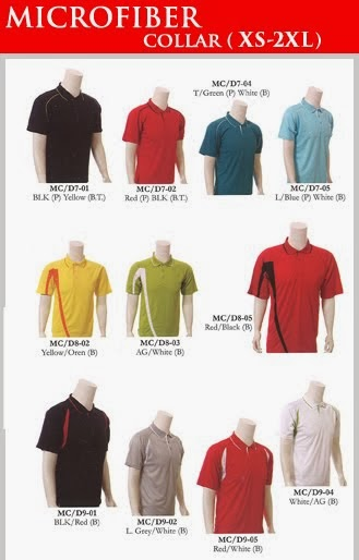Microfiber Collar Shirt