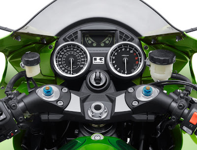 2012 Kawasaki Ninja ZX14R Panel Picture