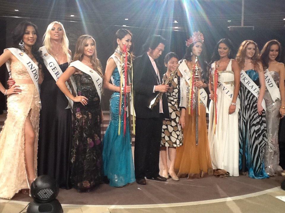 Miss Asia Pacific World 2012 India winner Himangini Singh Yadu