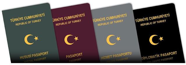 Pasaport Türleri Çeşitleri