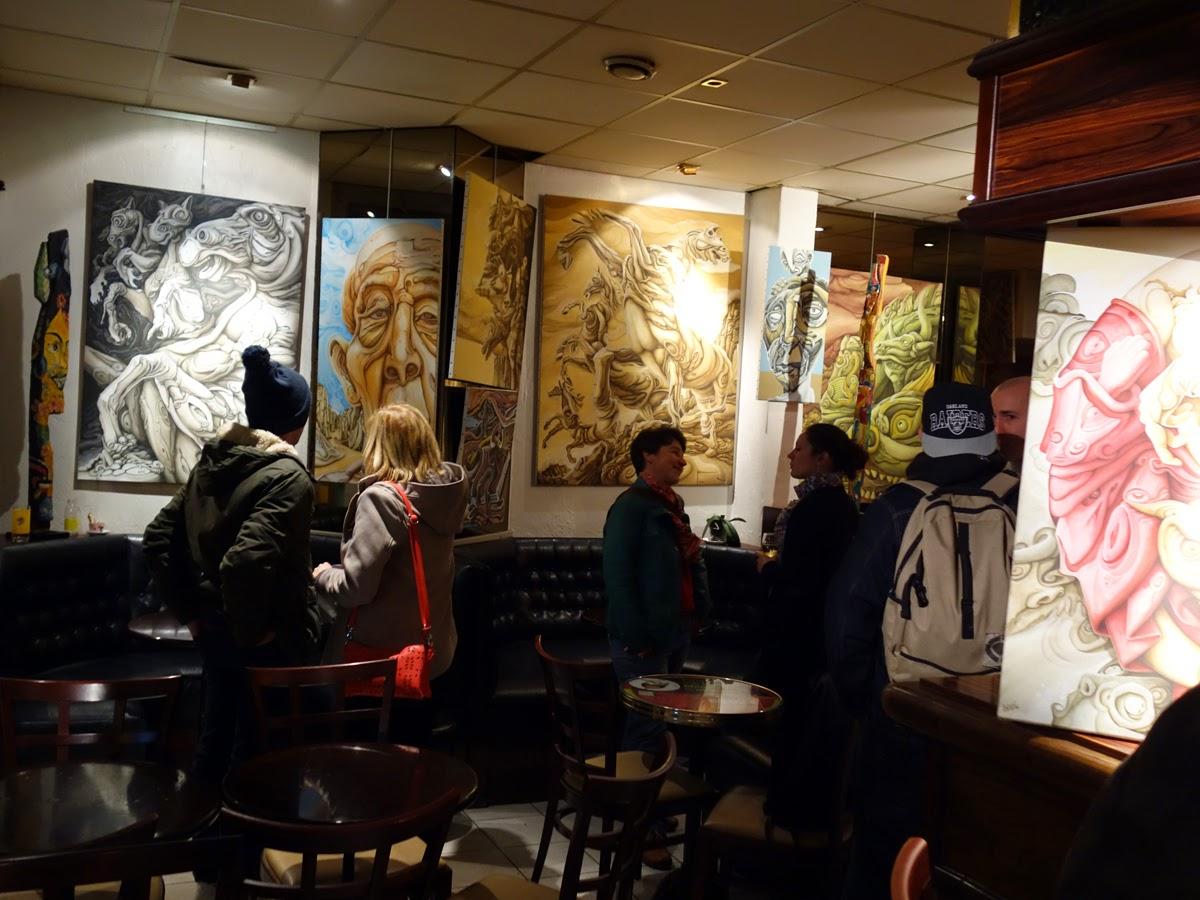 une petite histoire de la place saint germain de rennes vernissage de l 39 expo de peintures de. Black Bedroom Furniture Sets. Home Design Ideas