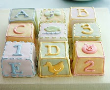 alphabet cakes ideas