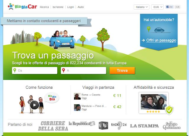 Scopri la Rivoluzionaria Alternativa per Viaggiare Low Cost e Rispettare l'Ambiente! Parti con BlaBlaCar