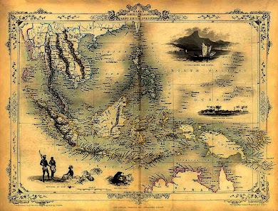 The Malay Archipelago - Map 1
