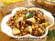 Obilno-ovocný šalát - recept