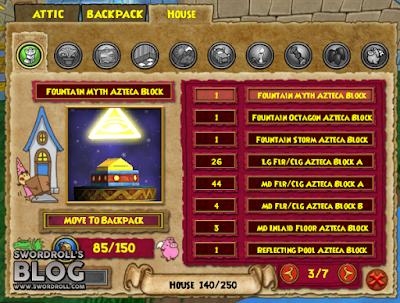 Wizard101 Aztecan Builder's Bundle Castle Blocks