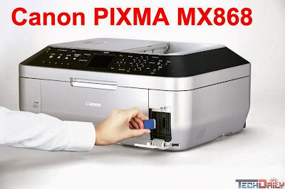 download Canon PIXMA MX868 Inkjet printer's driver
