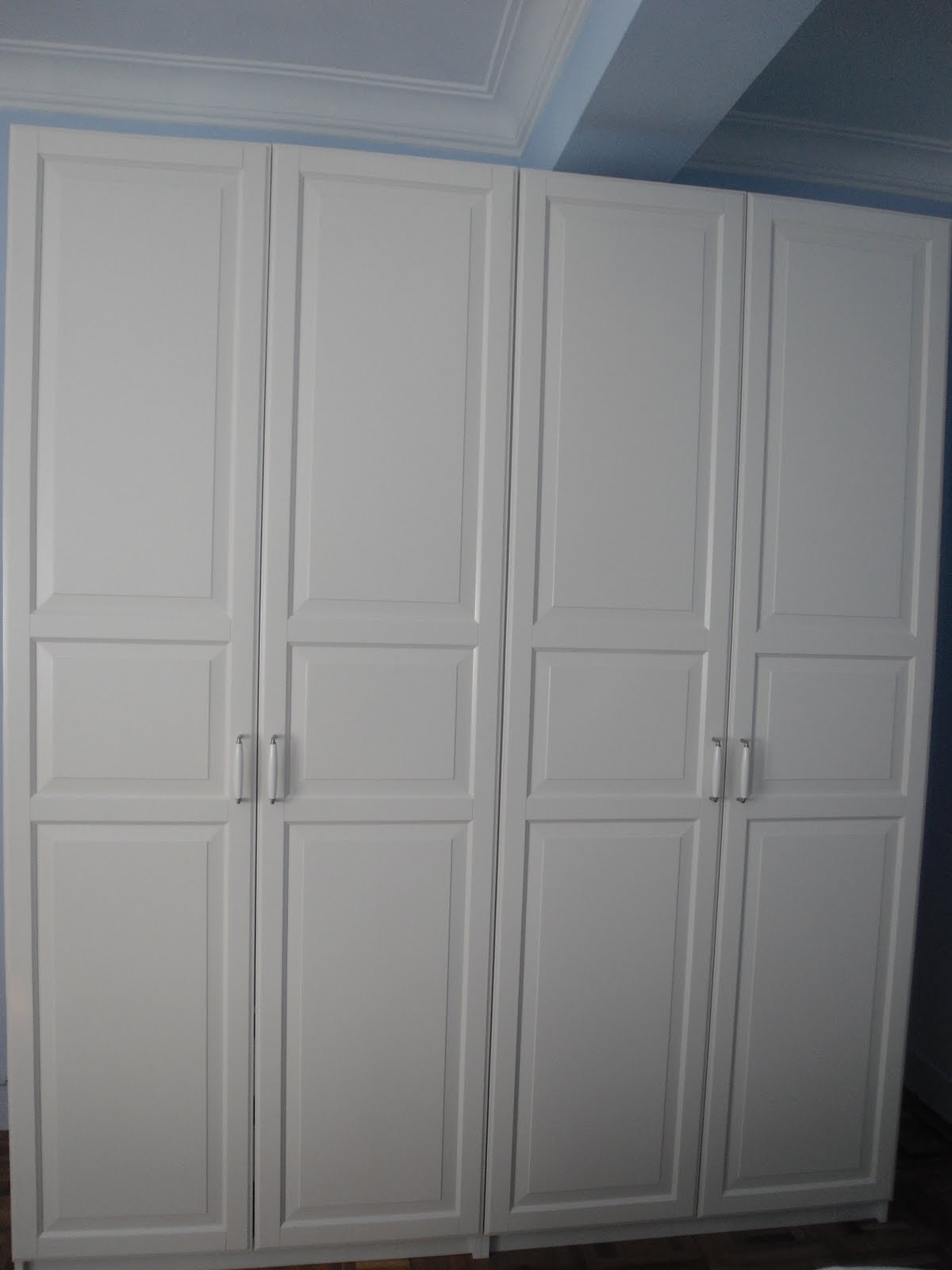 1000 images about closets on pinterest puertas closet for Armarios ikea