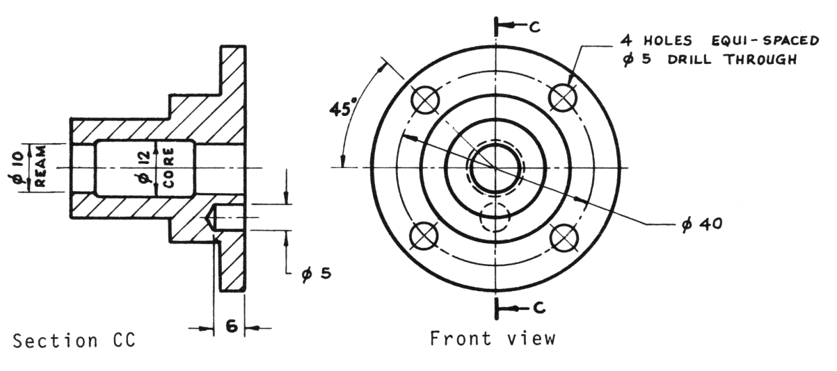 What Is Sectioning In Engineering Drawing Me113 Web Page