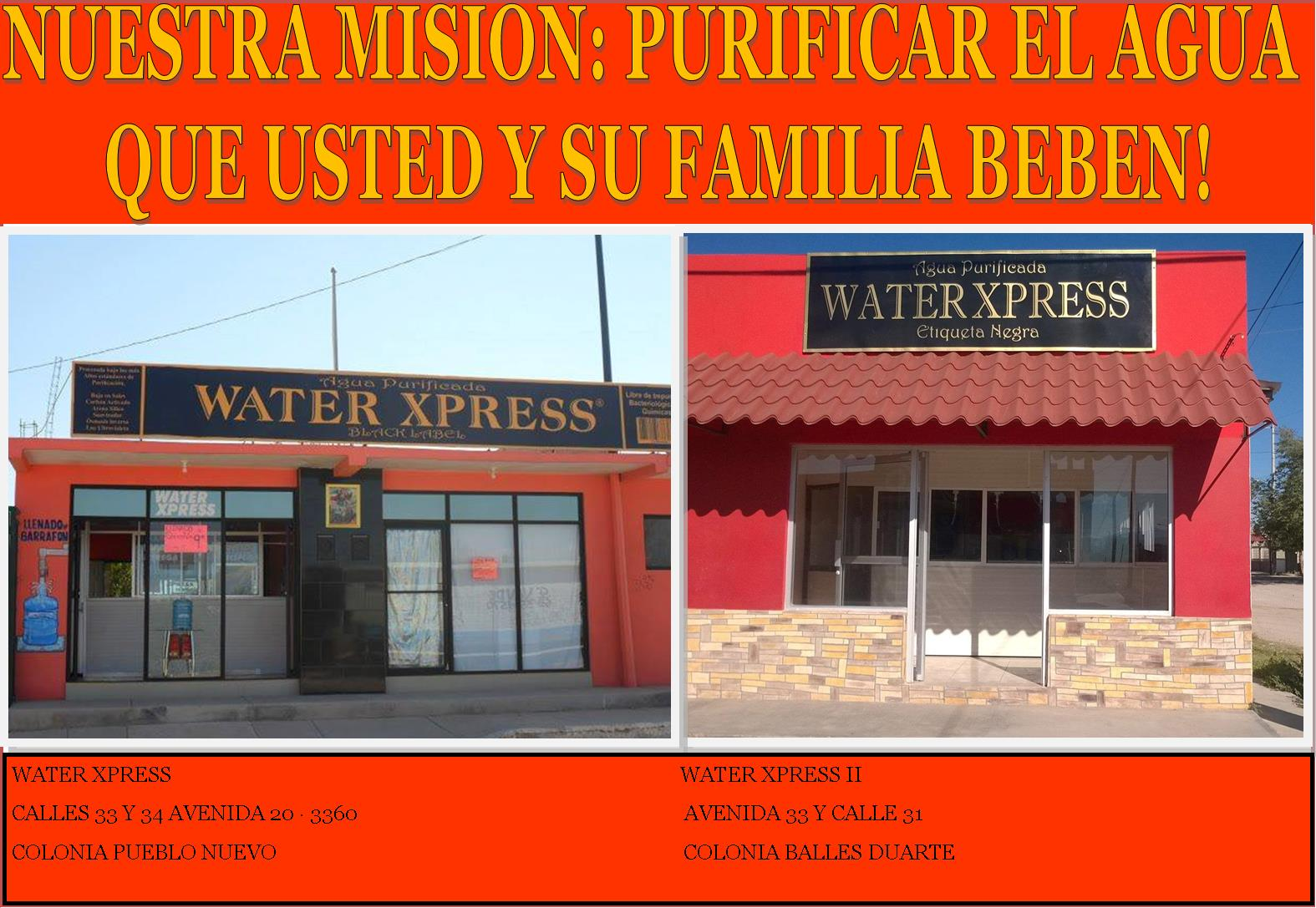 WATER XPRESS