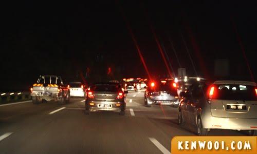 malaysia highway night drive