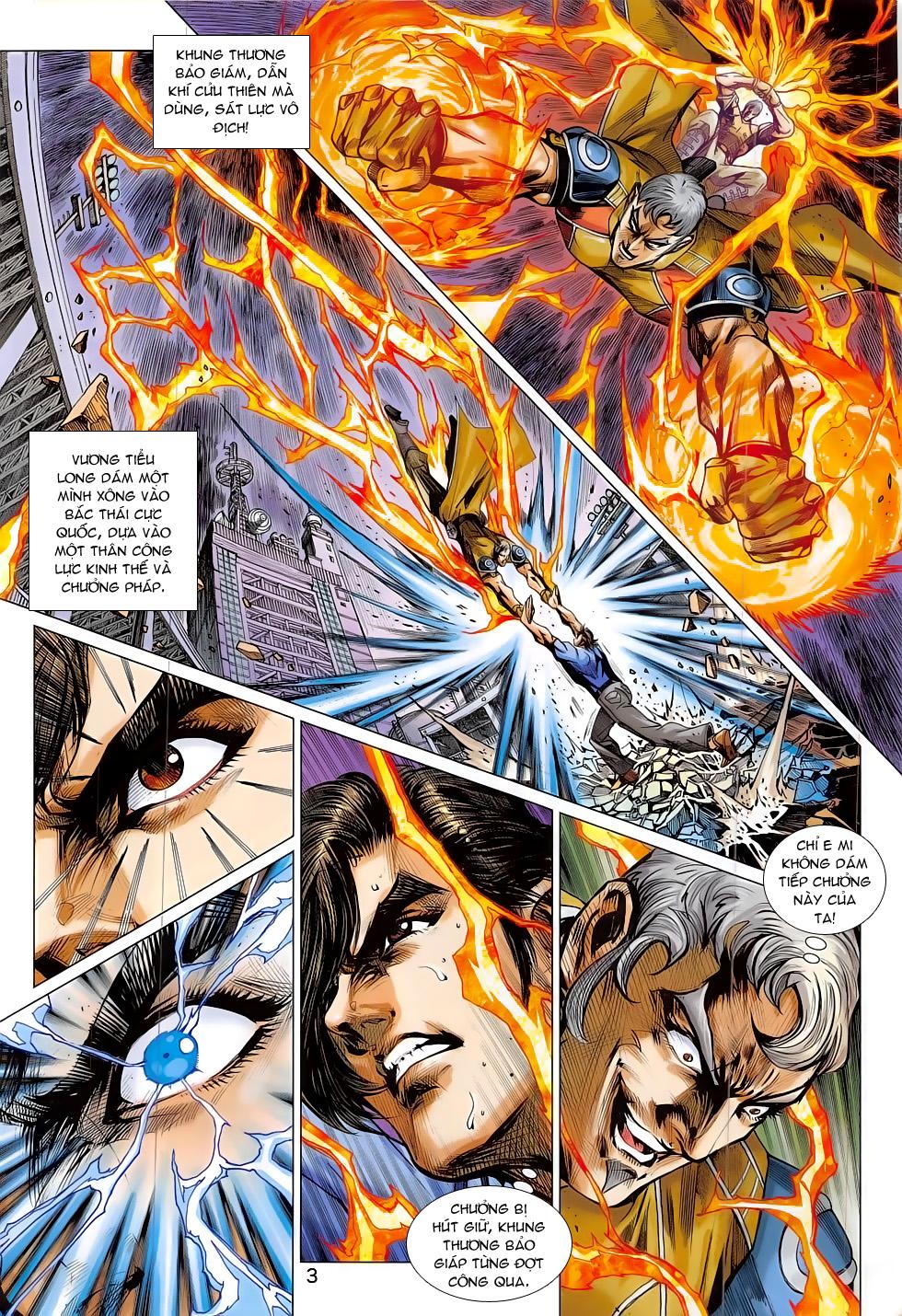 Tân Tác Long Hổ Môn chap 797 Trang 3 - Mangak.info