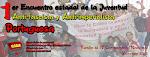Cartel Encuentro Antifascista Portuguesa 2013