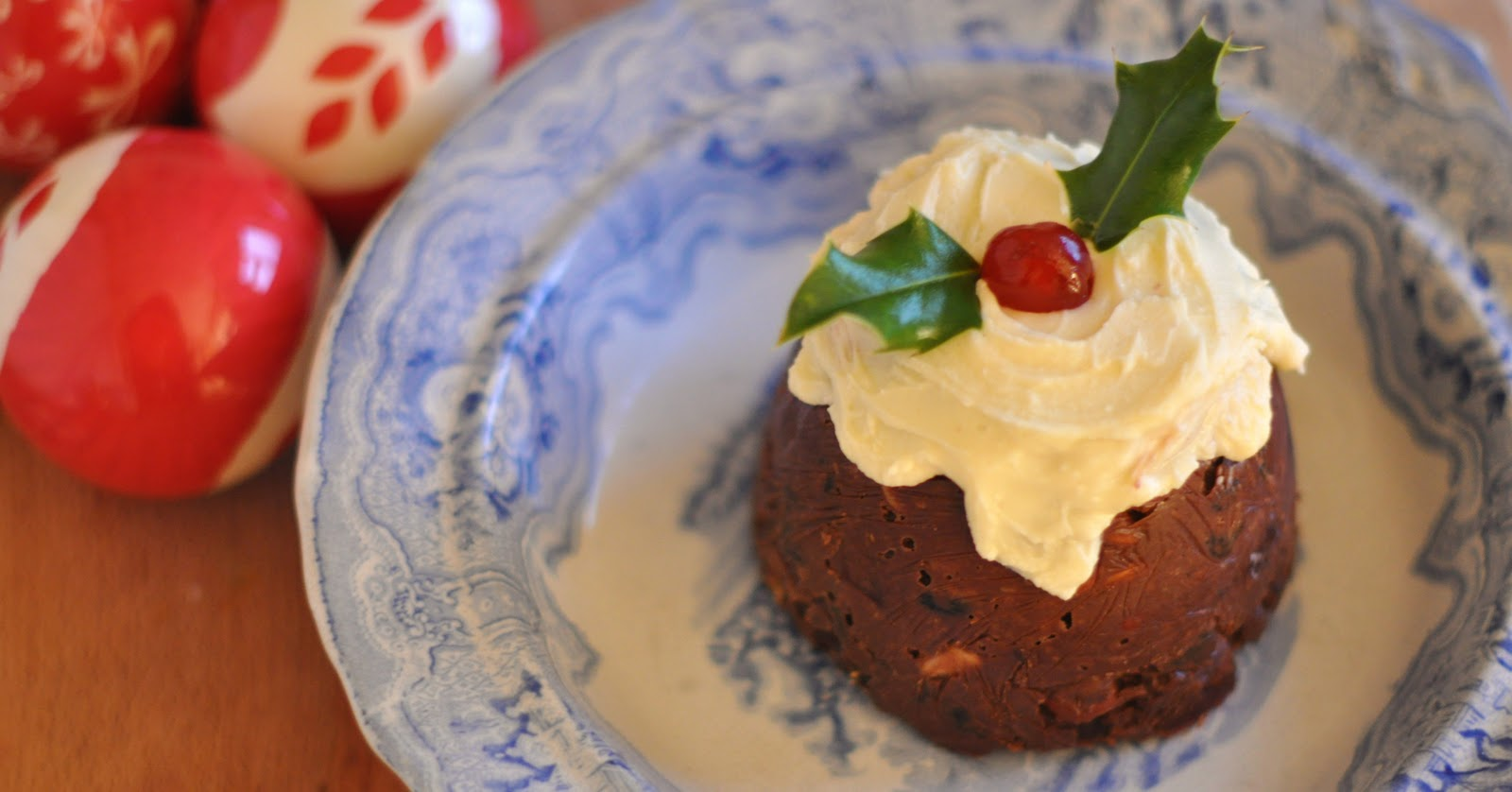 make christmas pudding in microwave