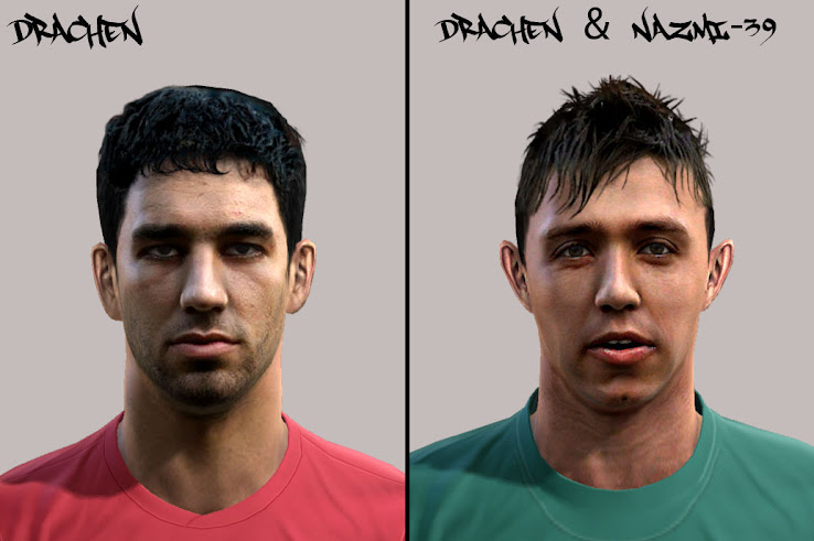 Arda Turan & Muslera Faces by DracheN