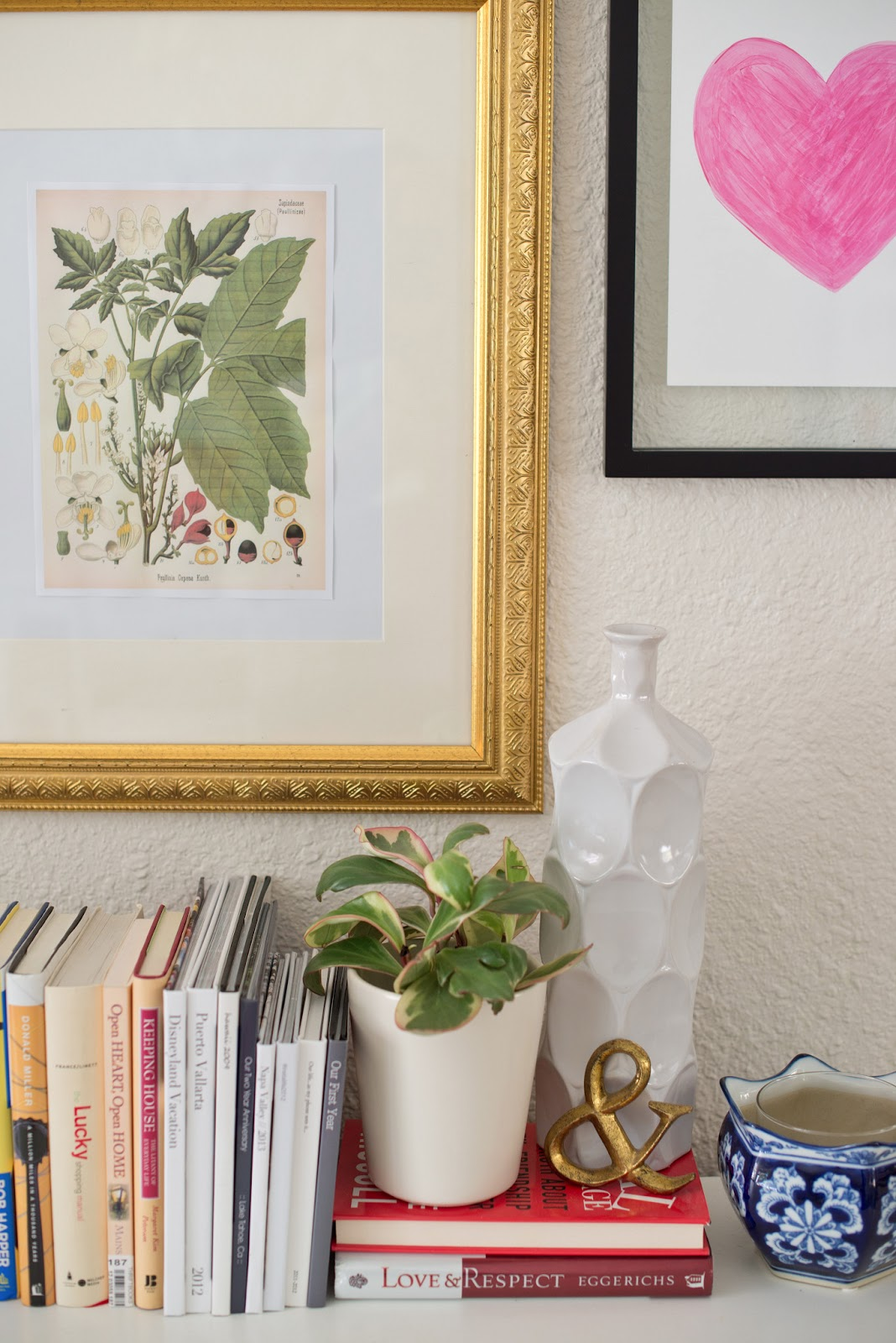 domestic fashionista decorating with houseplants