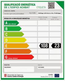Certificado Energético : Etiqueta