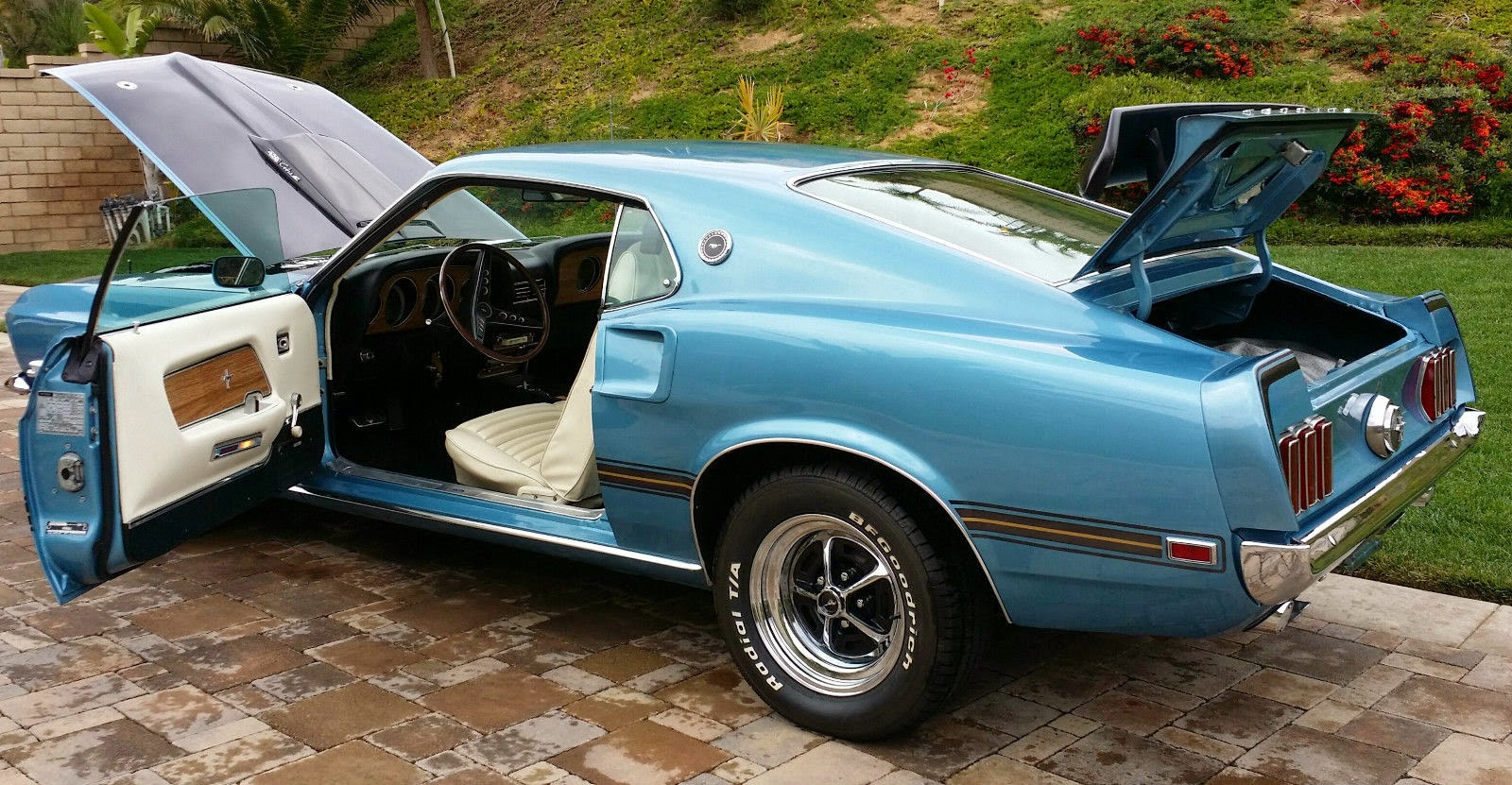 1969 ford mustang mach 1 cobra jet ~ for sale american muscle carsfor sale american muscle cars