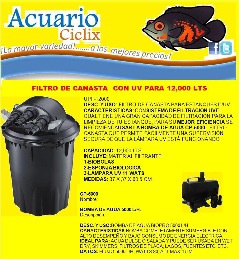 Hola les presentamos algunos productos necesarios para su for Precios de estanques