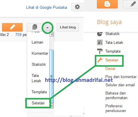 Cara Pasang Meta Tag Description Di Blogspot