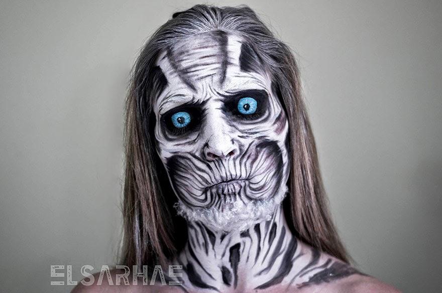 transformacion con maquillaje