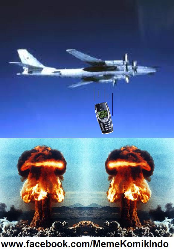Meme Komik Indonesia: Nokia 3310 combo