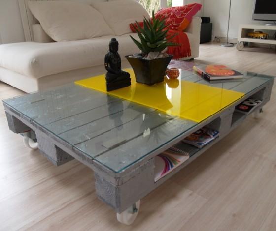 Palette design table - Table basse palette design ...