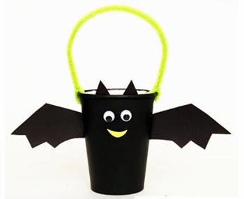 Paper Cup Bat Basket