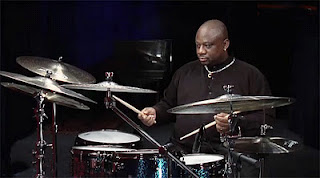 Jazz Drummer Ralph Peterson Performs at Bond Lounge at Boston's Langham Hotel on February 22