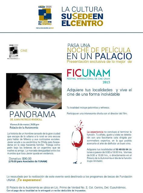 Lo mejor del FICUNAM 2013 en el Palacio de la Autonomía
