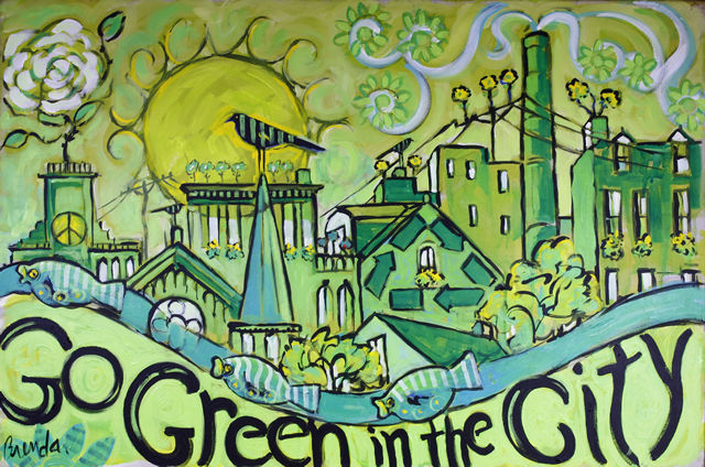 Sustainable development in malaysia low carbon city for Mural go green