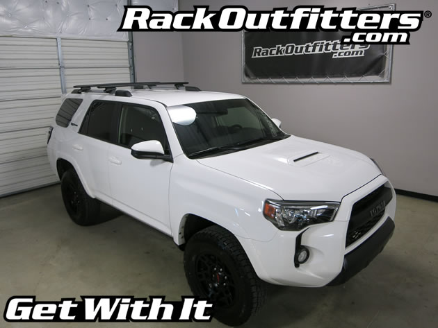 New Toyota Trd Pro 4 Runner Thule Rapid Crossroad Black