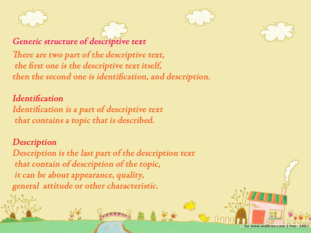 2 kinds of descriptive essay Performing an analysis in a descriptive essay is descriptive essays can be quite fun is looking to combine these two different types of essays.
