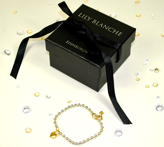 Jewel street - Lily Blanche - Jewellery - bracelet - Silver - gold - ball chain bracelet - locket and key - Silver and gold - thin bracelet - review - packaging - gift - online shopping