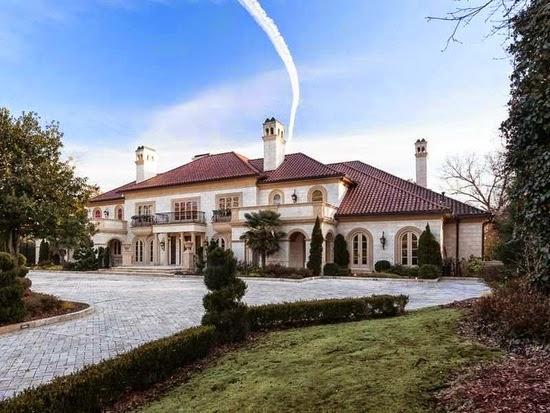 Homes Mansions Large Mansion For Sale In Atlanta GA For