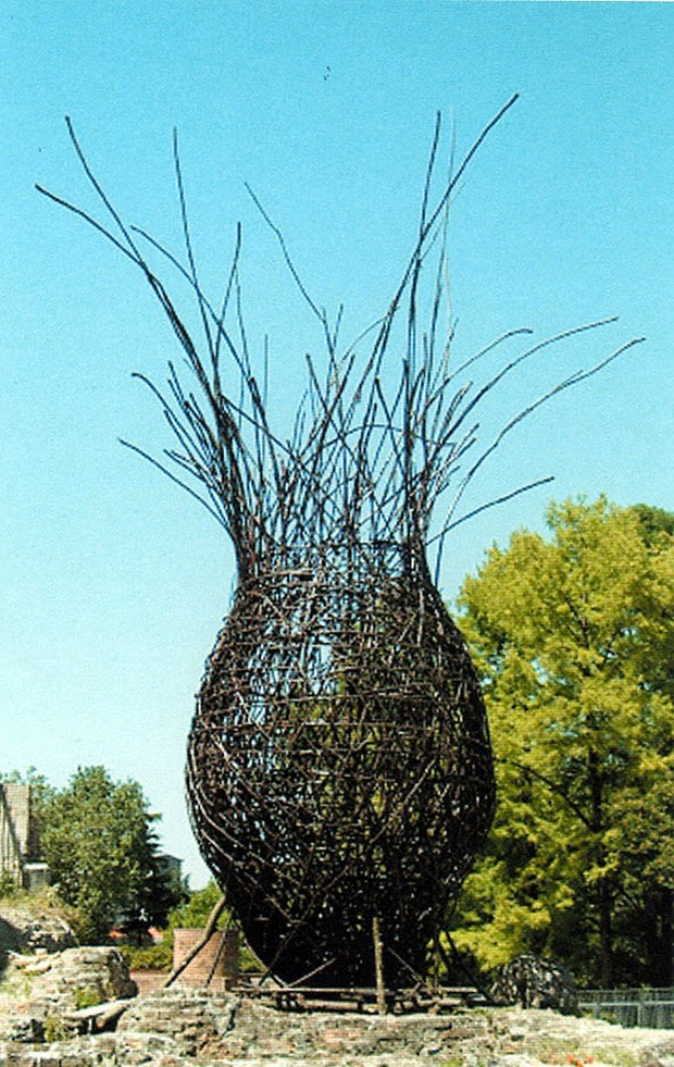 Basketry In Art : Contemporary basketry giuliano mauri