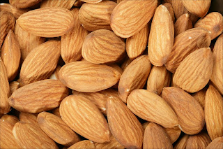 hydrogen-cyanide (toxic form of Amygdalin, Laetrile, or vitamin B17) is found in almonds