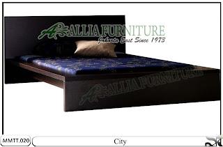 Tempat Tidur Minimalis modern city 160 X 200