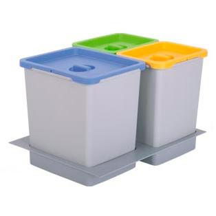 Cubo bancada empotrable tu cocina y ba o - Cubos de basura industriales ...