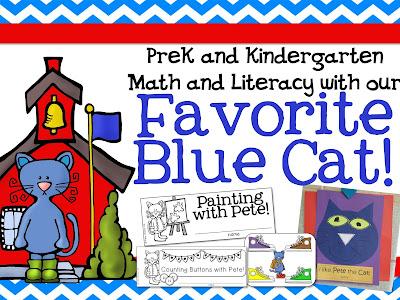 https://www.teacherspayteachers.com/Product/Pete-the-Cat-inspired-activities-for-PrekKindergarten-1412956