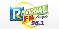 Rádio Regional FM de Arenápolis MT ao vivo