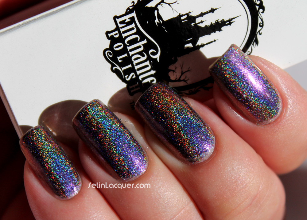 Enchanted Polish - A Time To Remember - in window diffused sunlight