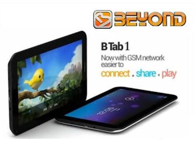 Beyond B Tab 1, Tablet 7 inci ICS Bisa Telpon dan SMS